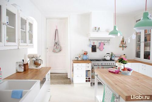 Как сделать кухню уютной и светлой
