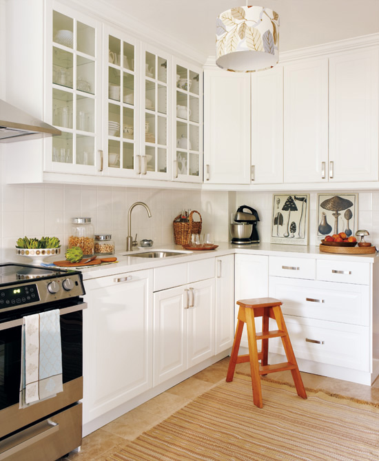 iИнтерьер маленькой кухни фото