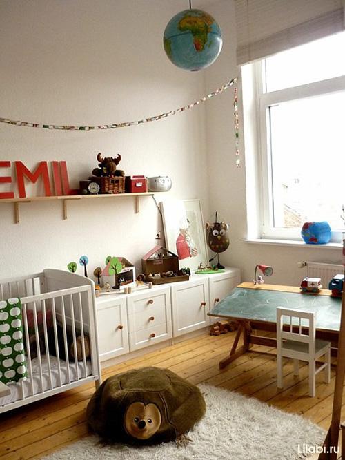 Как обустроить детскую комнату. Детская комната для ребенка до 3-х лет