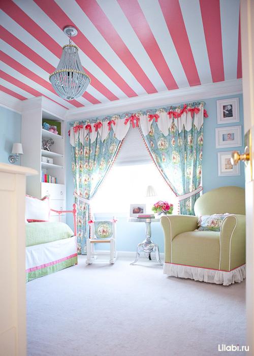 Как обустроить детскую комнату. Текстиль в детской, красивые шторы для детской комнаты