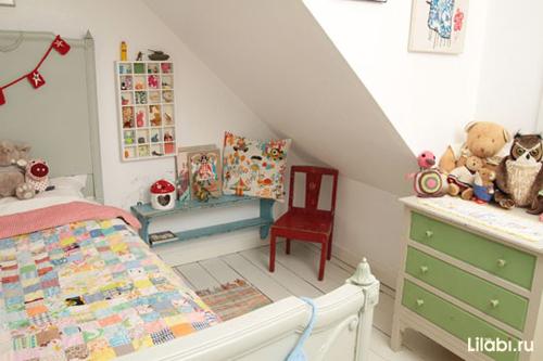 Как обустроить детскую комнату. Маленькая детская комната