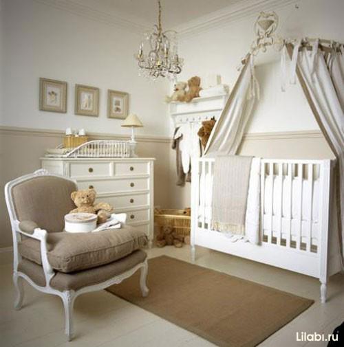 Как обустроить детскую комнату. Детская в пастельных тонах