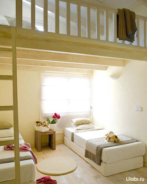 Интерьер детской спальни для двоих