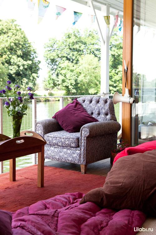 Яркий интерьер дома в Лондоне