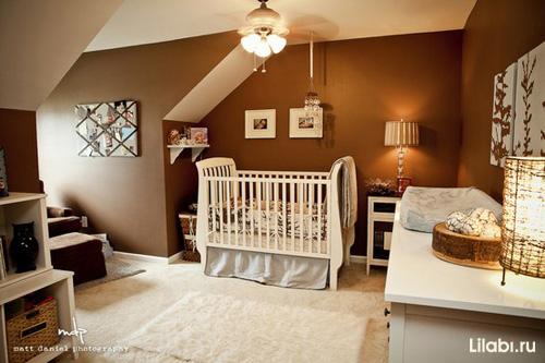 Дизайн детской комнаты для новорожденного мальчика