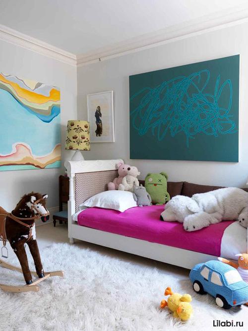 Дизайн детской комнаты для мальчика 4-7 лет