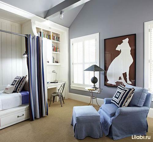 дизайн детской комнаты для мальчика 38 фото детских интерьеров