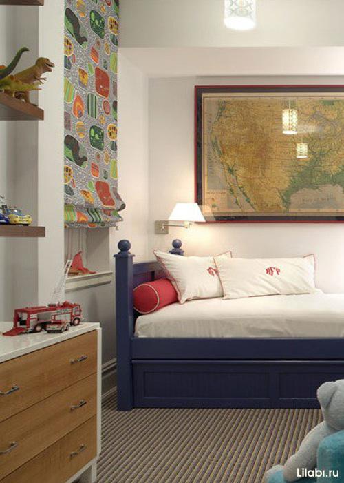 Дизайн детской комнаты для мальчика 5-7 лет