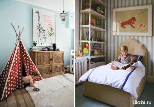 Дизайн детских комнат для мальчика