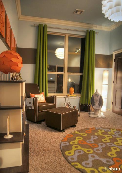 Яркий дизайн детской комнаты для мальчика