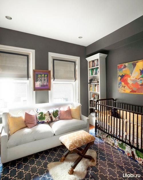Дизайн детской комнаты для мальчика 1-4лет
