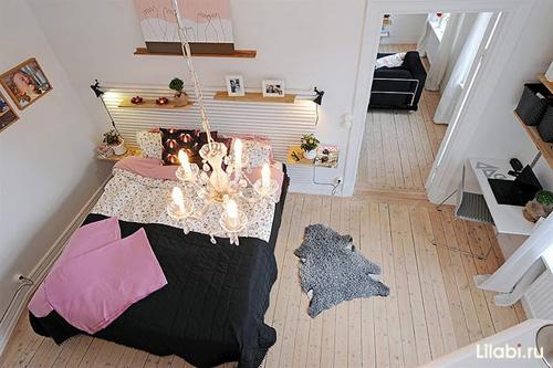 Интерьер комнаты для девушки. Как расставить мебель