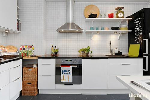 Г-образная кухня фото