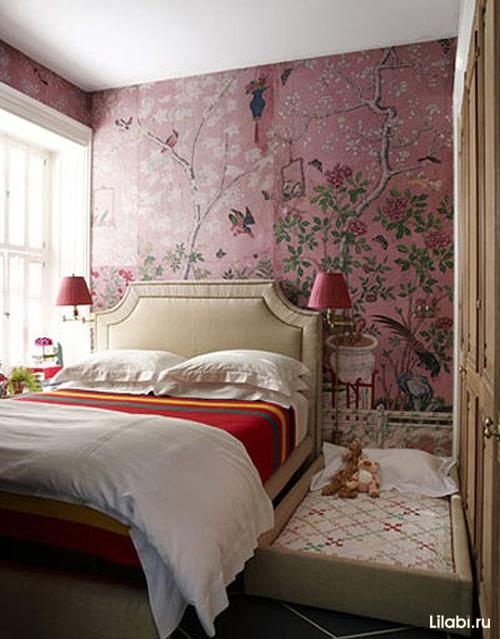Интерьер спальни 12 кв. м фото