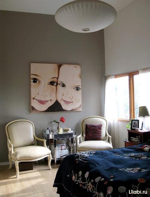 Дизайн интерьера спальни 12 кв. м