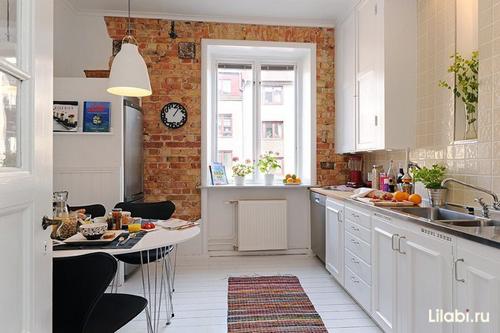 Дизайн интерьера кухни 12 кв. м