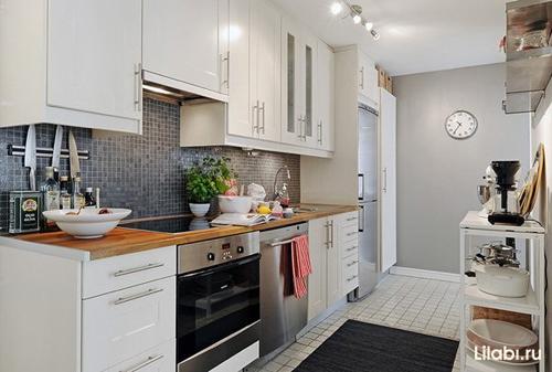 Дизайн интерьера кухни 12 кв. м фото