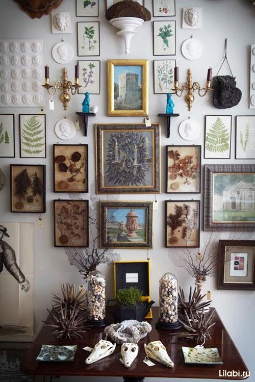 Галерея картин, картины и постеры в интерьере