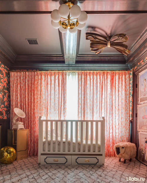 Необычная детская комната фото