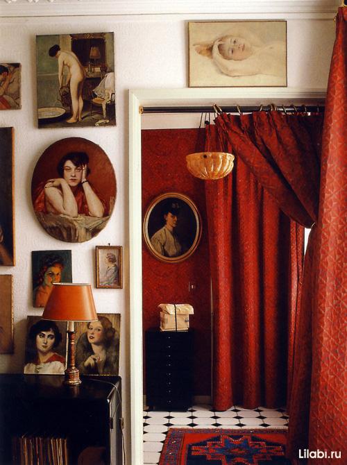 Картины в интерьере фото