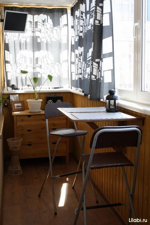 дизайн квартир фото совмещение кухни и балкона #10