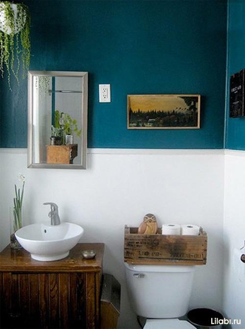 Дизайн маленькой ванны совмещенной с туалетом