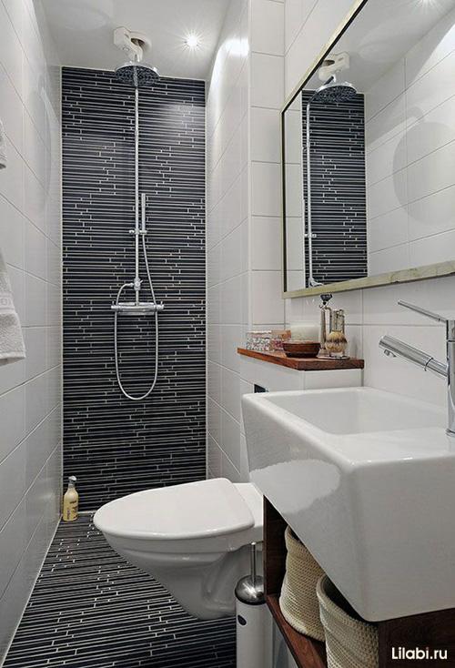 Фото дизайна ванной комнаты 3 кв метра 45