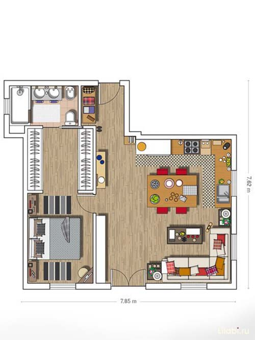 interer-i-planirovka-townhouse (99) plan