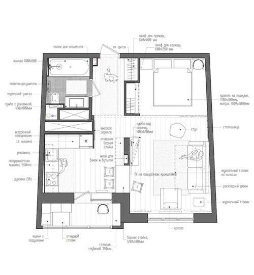 dizajn-proekt-odnokomnatnoj-kvartiry-studii-40-m-planirovka